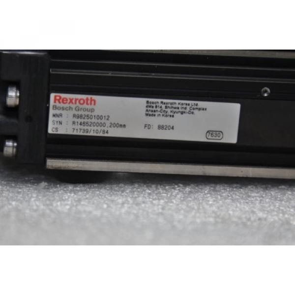 BOSCH Canada Singapore REXROTH  R146520000  Linear Actuator 300L Stroke 58mm, Pitch 2.5mm #2 image
