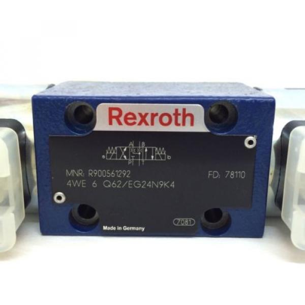 Hydraulic Mexico Canada Directional Valve 4WE6Q62/EG24N9K4 Bosch Rexroth 4WE-6-Q62/EG24N9K4 #2 image