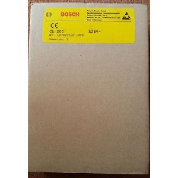 Bosch China Germany Rexroth  CL200 E24V~ 1070075101-305 #1 image