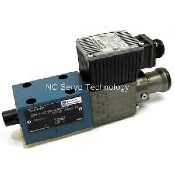 Rexroth Italy Germany DREE10-52/200YG24NK31M Valve Pressure Reducing Rebuilt #1 image