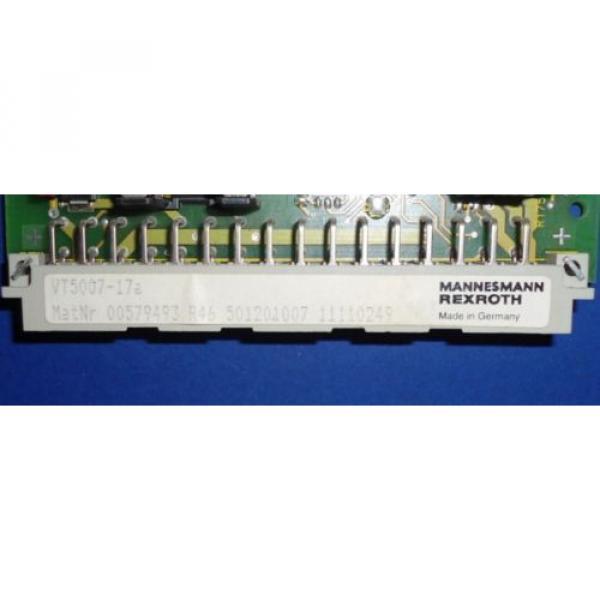 MANNESMANN Australia Germany REXROTH AMPLIFIER CARD VT5007-17a #2 image