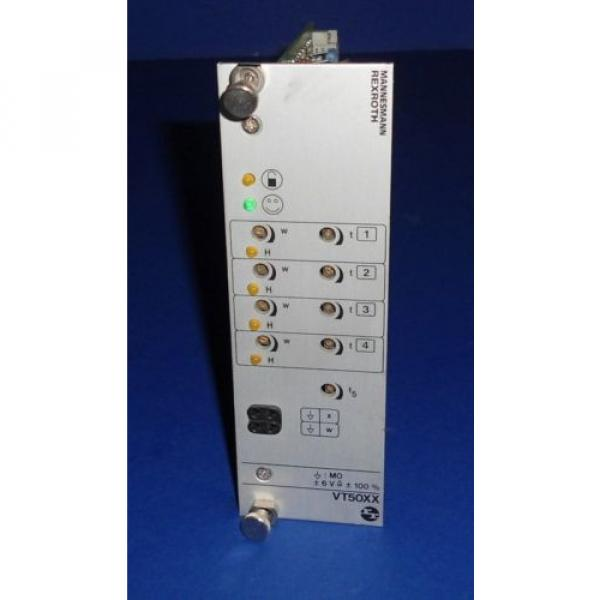 MANNESMANN Australia Germany REXROTH AMPLIFIER CARD VT5007-17a #3 image