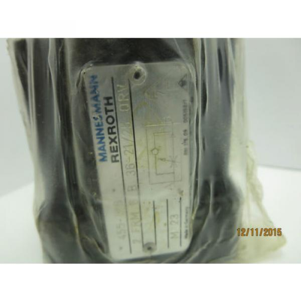 Rexroth India Italy 2 FRM 6 B 36-21/25 QRV 2-Way Flow Control Valve #2 image