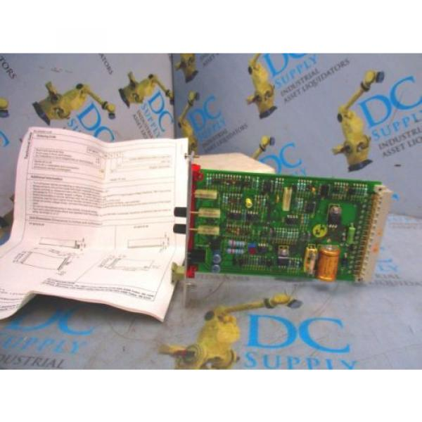 REXROTH Dutch Dutch  VT2010 S49/2 SERIES 49 200 HZ  PROP AMPLIFIER MODULE NEW #3 image