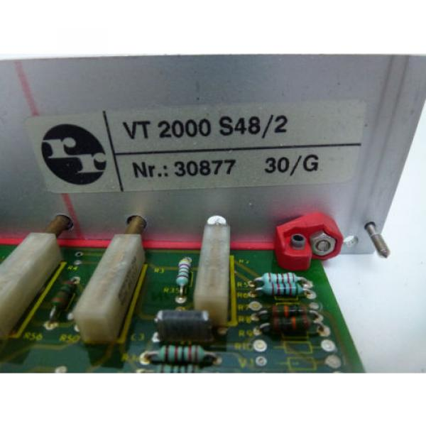 Rexroth Japan Italy VT 2000 S48/2 Prop. Verstärker free delivery #2 image