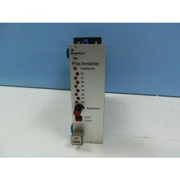 Rexroth India Korea VT5005 S14 R1  Prop.Verstärker #1 image
