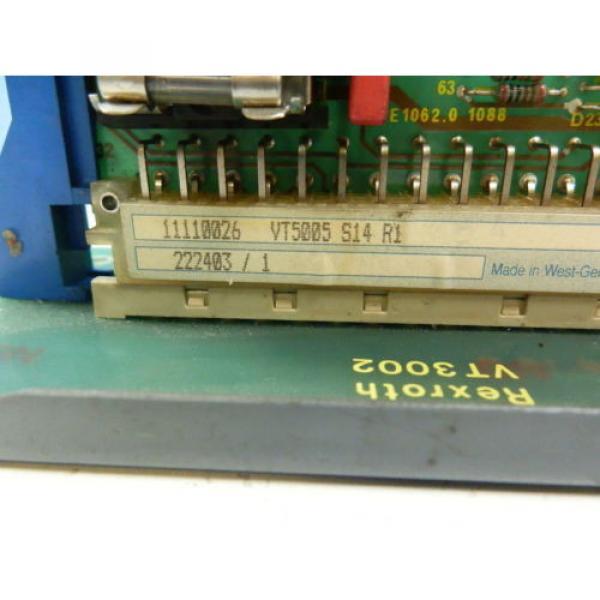 Rexroth India Korea VT5005 S14 R1  Prop.Verstärker #2 image