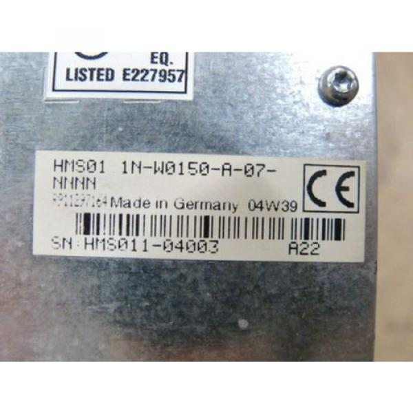 Rexroth Dutch Canada HMS01.1N-W0150-A-07-NNNN IndraDrive M Servo Controller #3 image