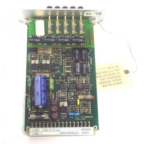 NEW Korea Singapore REXROTH VT3018-S37-R5 PC BOARD VT3018S37R5 #3 image