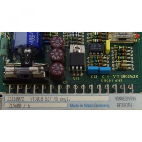 NEW Korea Singapore REXROTH VT3018-S37-R5 PC BOARD VT3018S37R5 #4 image