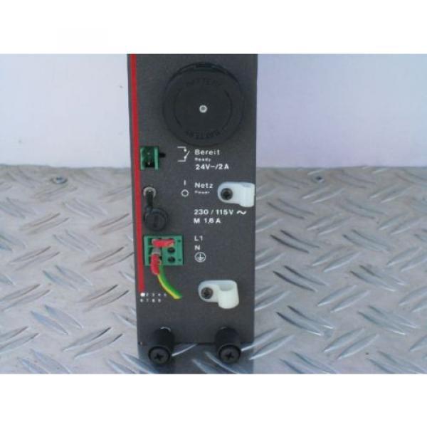 BOSCH Australia Dutch Rexroth 1070071376-101 Power Supply NT1 #1 image