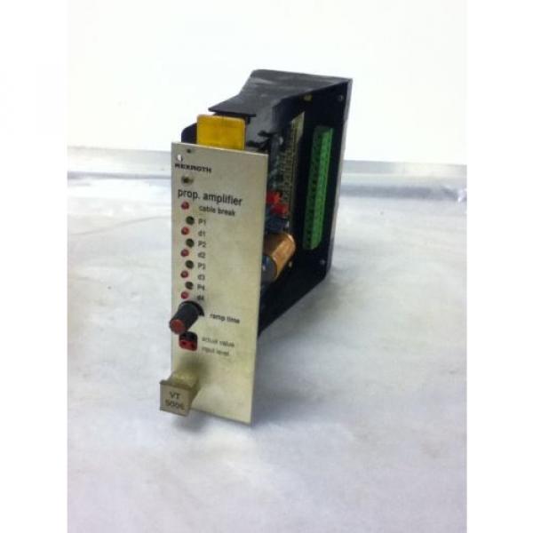 USED Australia Egypt REXROTH VT5006-S16-R1 AMPLIFIER MODULE #1 image