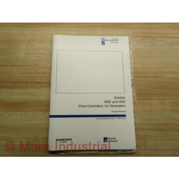 Rexroth China France Indramat DOK-DIAX04-HDD+HDS Project Planning Manual (Pack of 6) #1 image