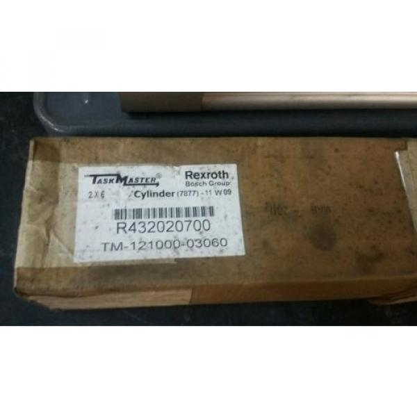 (2) Canada India NEW REXROTH TASKMASTER TM-121000-03060 PNEUMATIC AIR CYLINDER 2 X 6 #2 image