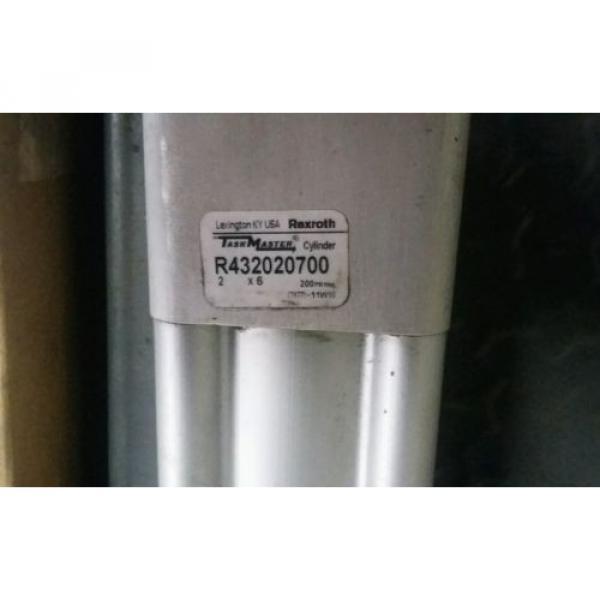 (2) Canada India NEW REXROTH TASKMASTER TM-121000-03060 PNEUMATIC AIR CYLINDER 2 X 6 #4 image