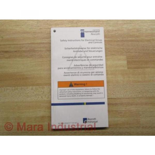 Mannesmann Japan Australia / Rexroth SV01-MS-P Manual 120-1300-B305 #1 image