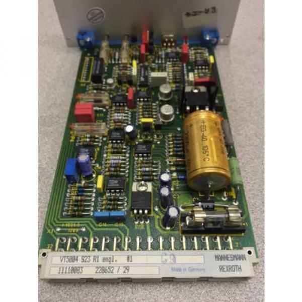 USED Greece Australia REXROTH PROP. AMPLIFIER  VT5004 S23 R1 #4 image