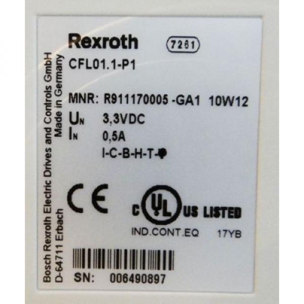 Rexroth Mexico Dutch Indramat CFL01.1-P1/2. Profibusmodul Profibus-Master  -unused/OVP- #2 image