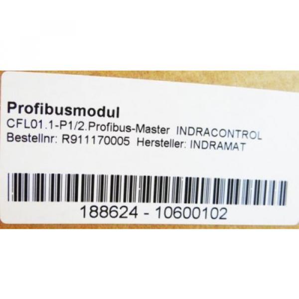 Rexroth Mexico Dutch Indramat CFL01.1-P1/2. Profibusmodul Profibus-Master  -unused/OVP- #3 image