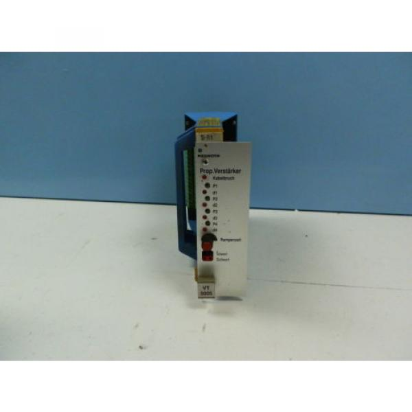 Rexroth Canada Italy VT5005 S16 R1  Prop.Verstärker #1 image