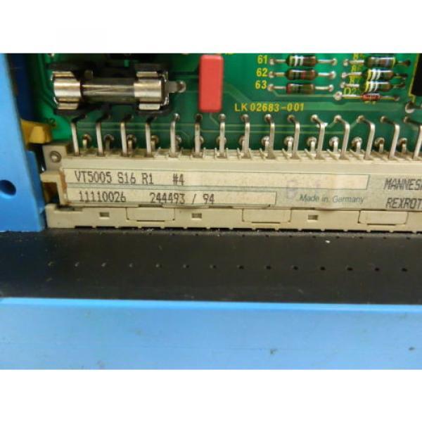 Rexroth Canada Italy VT5005 S16 R1  Prop.Verstärker #2 image