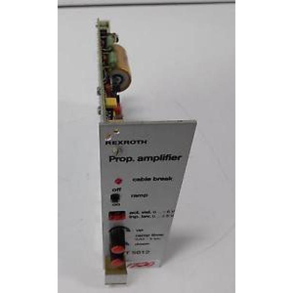 REXROTH Egypt Korea VT 5012  PROP. AMPLIFIER CARD  VT 5012S30 R5 #1 image