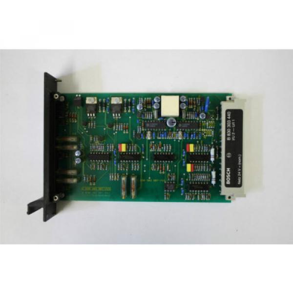 Rexroth Dutch Italy B 830 303 440 I/U2-U/I 1  Current/Voltage Signal Transformer #1 image