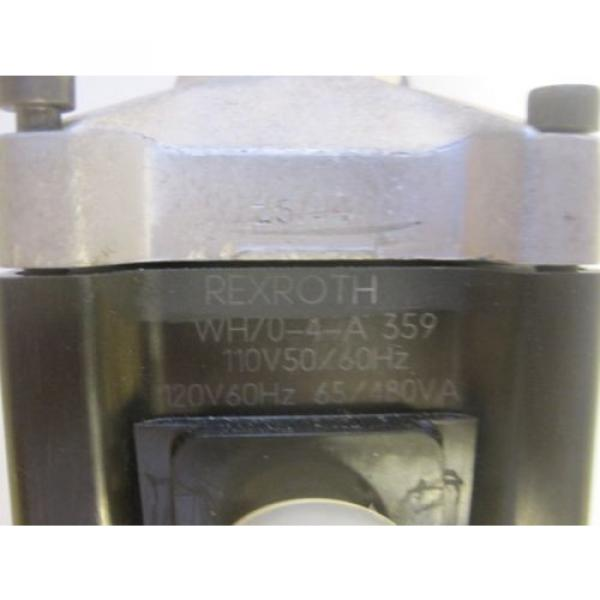 NEW Russia Mexico REXROTH WH70-4-A 359 VALVE  REXROTH WH704A #3 image