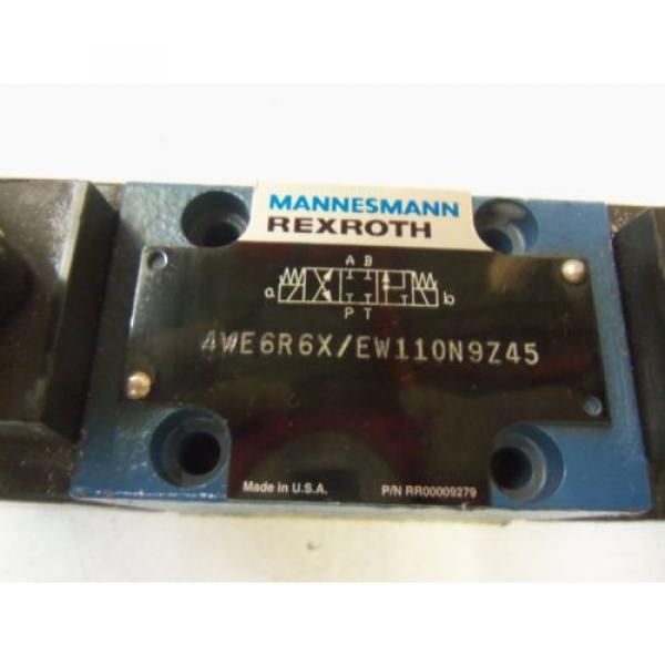 MANNESMANN Dutch Russia REXROTH 4WE6R6X / EW110N9Z45 *USED* #2 image