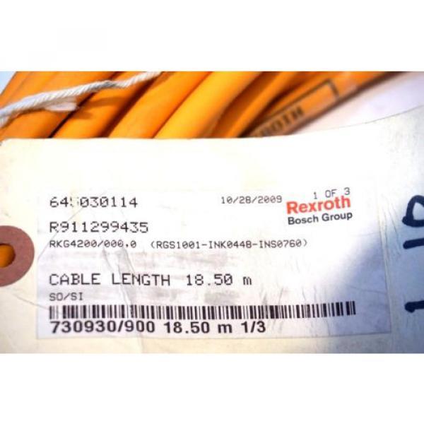NEW Singapore Greece BOSCH REXROTH RKG4200 / 000.0 CABLE 18.5M RKG42000000 #3 image