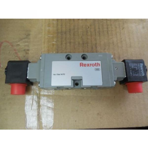 Rexroth Germany Singapore Double Solenoid Valve 0820 023 992 0820023992 143 PSI 24 VDC New #1 image