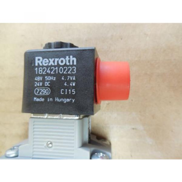 Rexroth Germany Singapore Double Solenoid Valve 0820 023 992 0820023992 143 PSI 24 VDC New #4 image